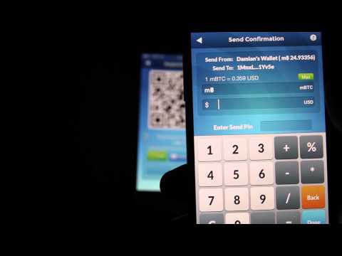 How To Send And Receive Bitcoin On Your Mobile Phone With Airbitz