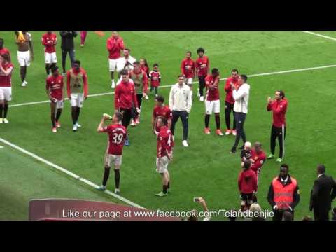 Manchester United End of Season Lap of Honour, how many will be back next Season?