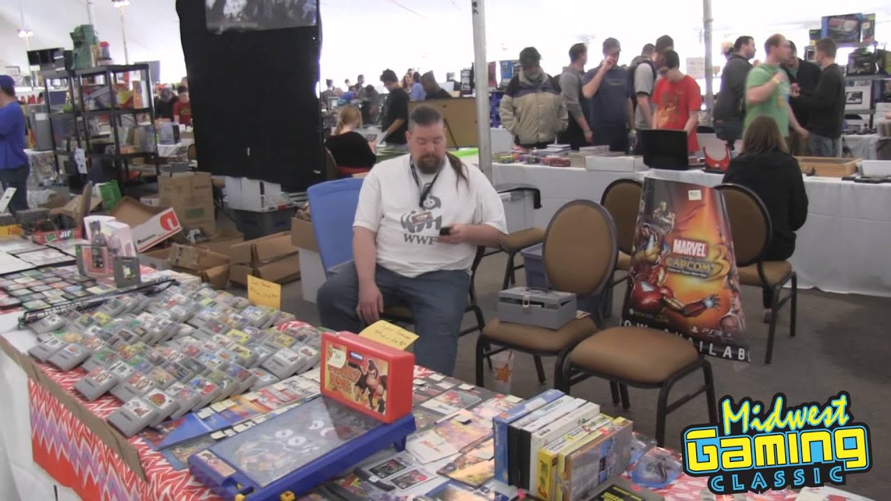 The Vendor Tent @ Midwest Gaming Classic 2015 - YouTube