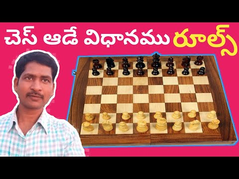Chess game rules and regulations in telugu part3 by SRINU PET CREATIONS, Rules of chess game in telu