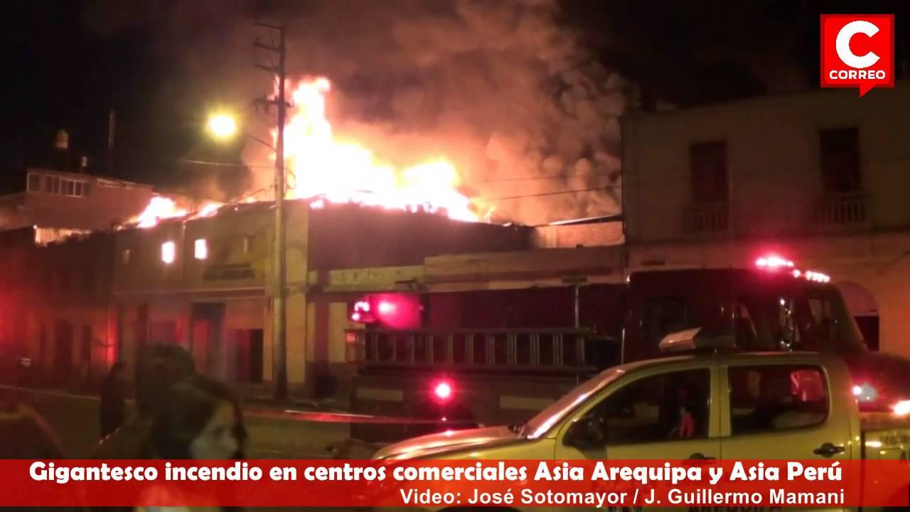 Incendio En Arequipa  Youtube