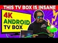 Insane 🔥🔥 4K android tv box | Convert Normal tv to smart TV - A95X Max
