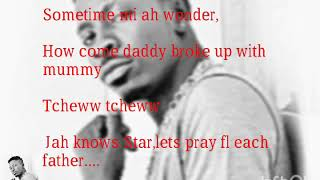 Shatta wale letter to my father lyrics