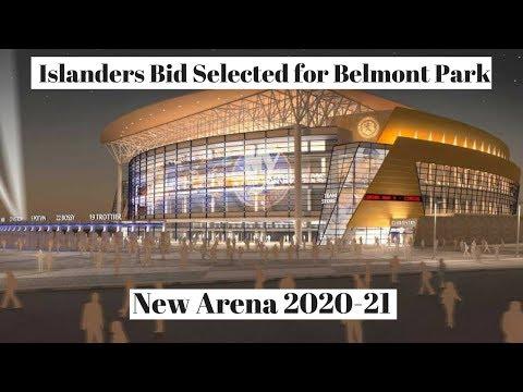 NY Islanders New NHL Arena Belmont Park