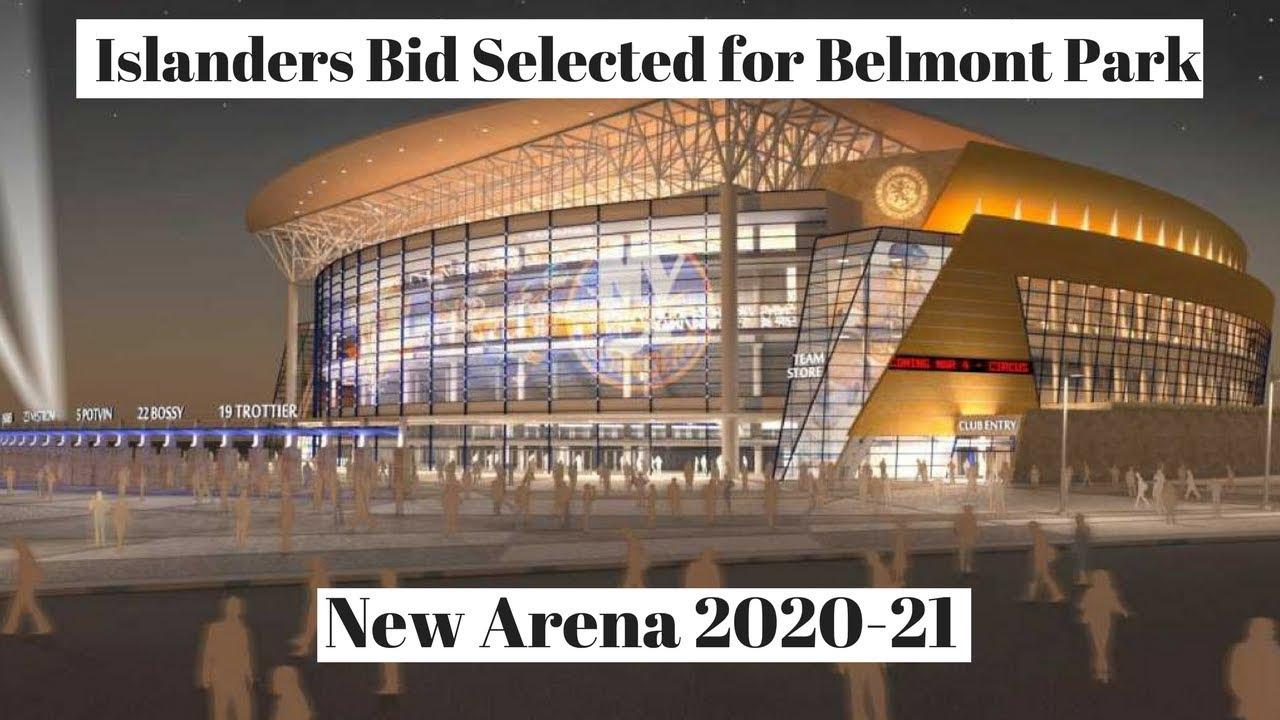 Ny Islanders New Nhl Arena Belmont Park Youtube