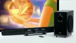 Sven SB-550 — саундбар с беспроводным сабвуфером и пультом ДУ(Хорошо подойдёт к современному телевизору, для подключения нескольких источников звука по HDMI и по аналогу...., 2014-12-04T18:23:48.000Z)