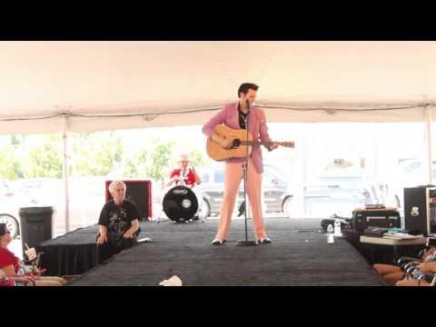 Michael Brandt sings 'That's Alright Mama' Elvis Week 2014 video
