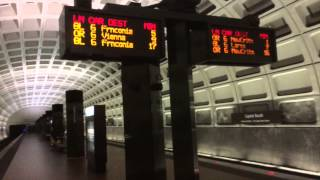 Ride on Washington D C  Metro