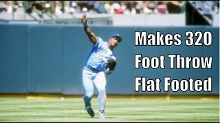Bo Jackson Being Unbelievably Athletic
