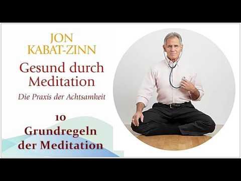 Gesund durch Meditation: Die Übung der Achtsamkeit YouTube Hörbuch Trailer auf Deutsch