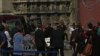 Obsèques de Sophie Lionnet, jeune fille au pair tuée à Londres