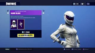"Fortnite Shop of August 17 NEW SKINS ""Rusher-Typhoon"" and gliders ""Cyclone-Rafale Blanche"""