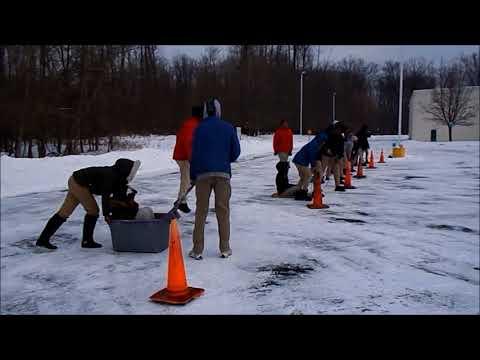 Fun Classroom Activities -The Green Inspiration Academy Sled Race 2K18
