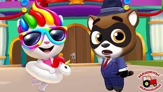 ГОВОРЯЩИЙ ТОМ АКВАПАРК #13 ОБНОВЛЕНИЕ Бен и Джинджер мультик игра видео для детей Talking Tom Pool