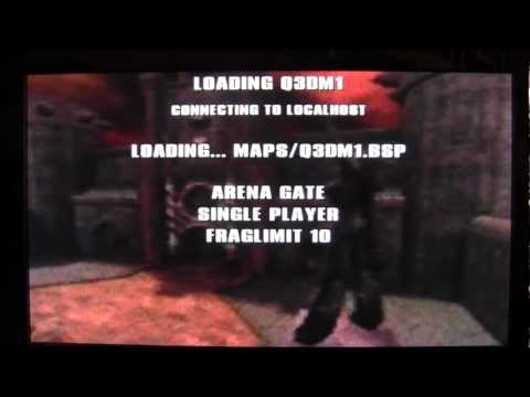 Raspberry Pi Tutorial : Quake 3 installation and a look at it running on mine :o)