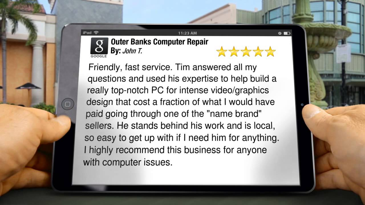 outer banks computer repair kill devil hills outstanding 5 star