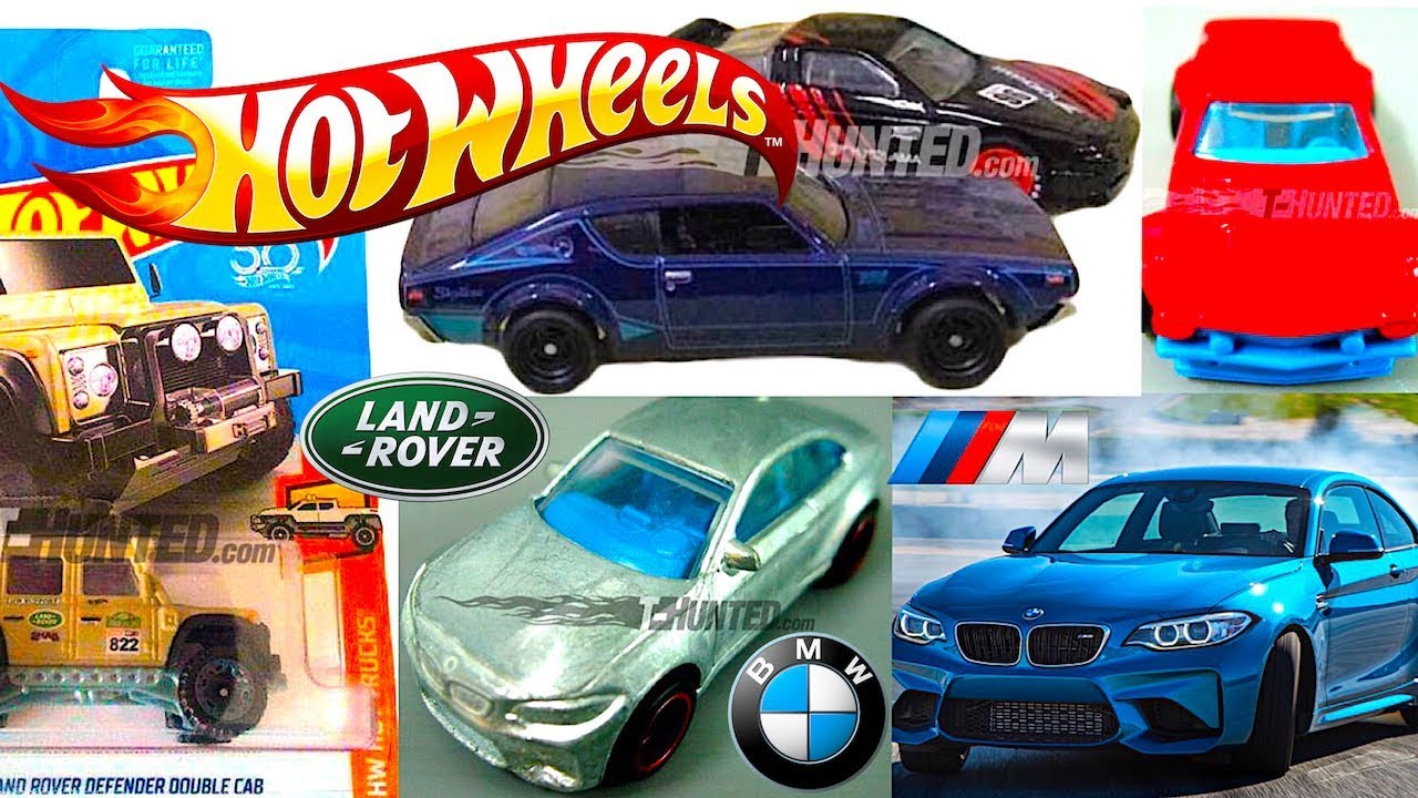 New 2018 Hot Wheels Bmw M2 Land Rover Defender Ford