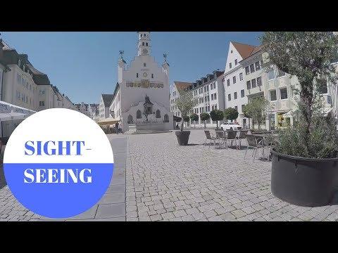 SIGHTSEEING: Kempten im Allgäu in GERMANY