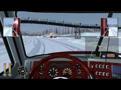 18 Wheels Of Steel Extreme Trucker 2: Ice Road Trucking Pt 3