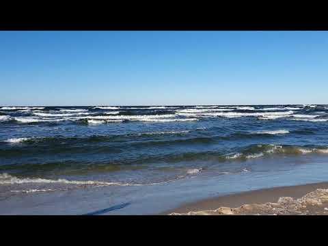 Plaża Czołpino luty 2021