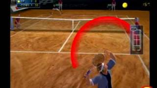 Agassi Tennis Generation PS2 Gameplay