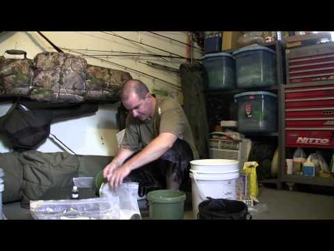 How To Buttermilk Soybean Meal Pack Bait Tutorial For Carp Fishing Underwater Tank