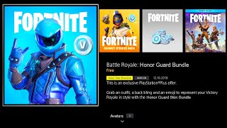 FORTNITE NEW HONOR GUARD EXCLUSIVE SKIN! NEW HONOR VIEW 20 FORTNITE SKIN! EXCLUSIVE HONOR GUARD SKIN