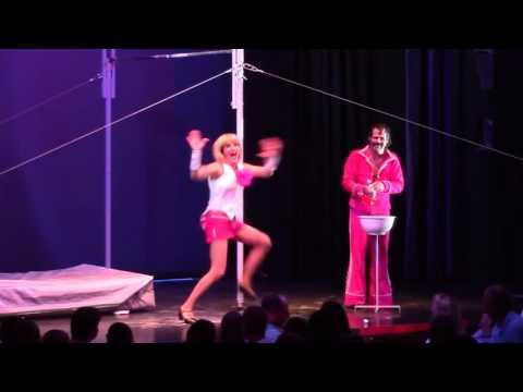 Comedy high bar act by Guga & Silvia 1812 / www.maximaaa.com