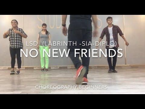 CHOREOGRAPHY   NO NEW FRIENDS   LSD  Ft. Sia, Diplo, Labrinth   STUDIO RAAS