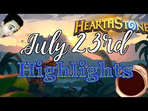 Hearthstone Stream Highlights (07/23/2017): Wild is... Well