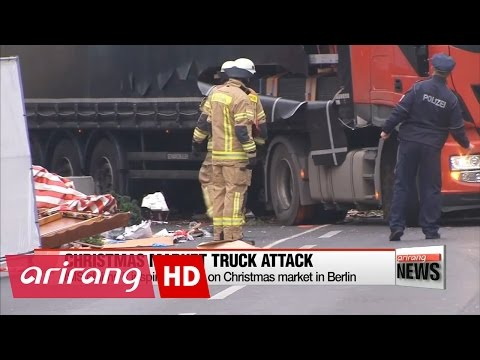 ISIS claims it inspired attack on Christmas market in Berlin