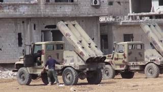 Боевые действия в Мухайям-эль-Ярмук