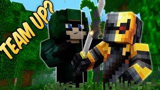 Minecraft Superhero Team-up! DEATHSTROKE & GREEN ARROW (Minecraft Bed Wars - Voice Acted Roleplay)