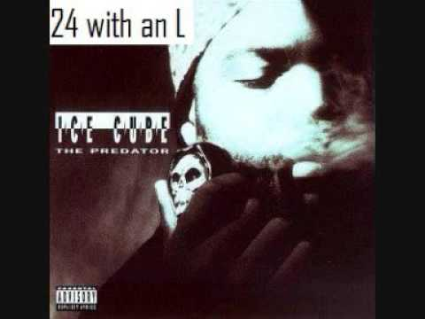 Ice cube - 24 with an L