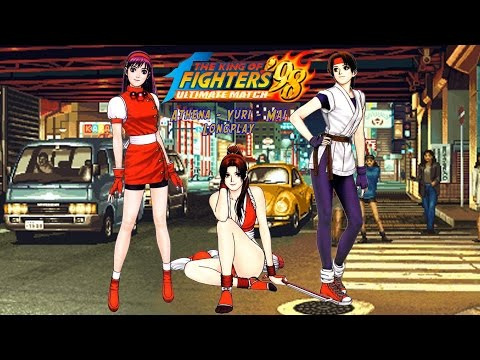 The King of Fighters 98 Ultimate Match [Xbox 360] Athena - Yuri - Mai