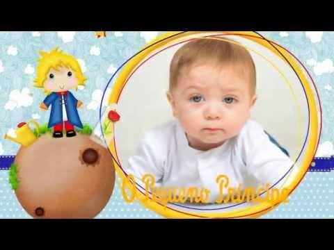 Convite Animado Pequeno Principe Lume