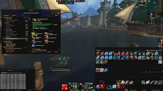 Рыбалка в Battle for Azeroth(1 час фарма в порту Боралуса,Полуночный лосось)