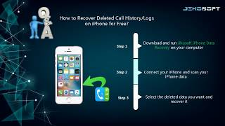 How to Recover Deleted Call History on iPhone for Free