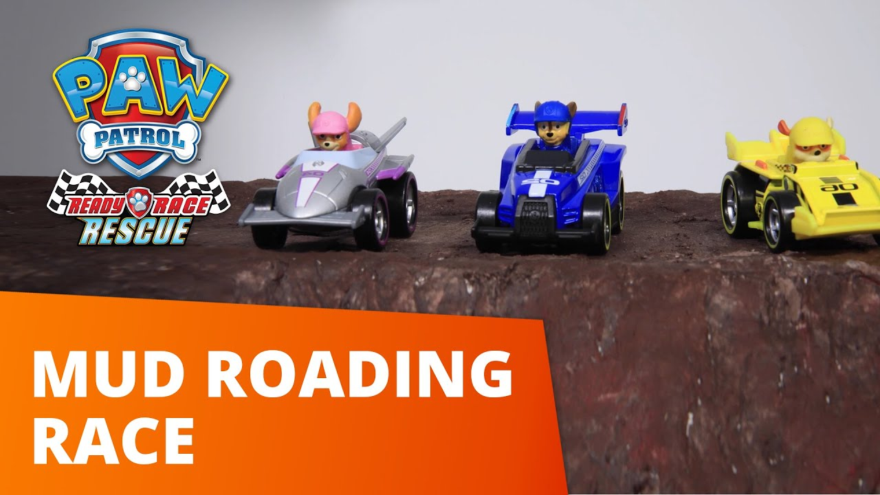 PAW Patrol | Mud Roading Race Master | Toy Episode | Paw Patrol Official & Friends