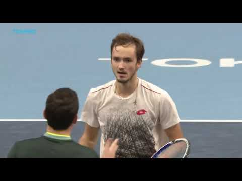 Match Point: Medvedev's World Class Defense In Tokyo