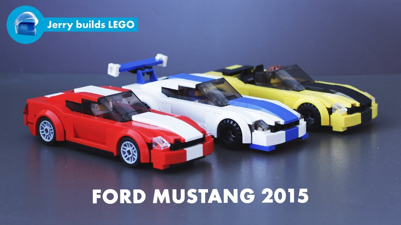 Lego ford mustang 2015 instructions moc 22