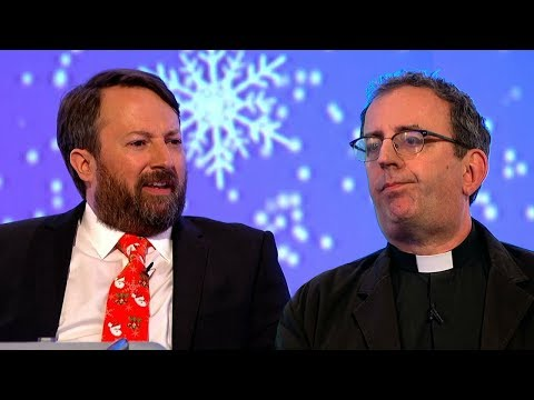 David Mitchell vs the Clergy  Would I Lie to You? HDCC
