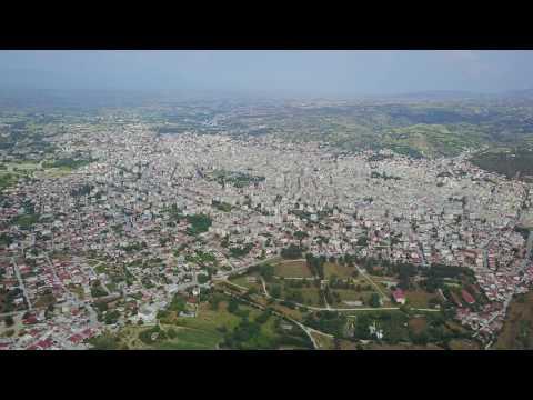 Serres-Central Macedonia -Greece - Οι Σέρρες από ψηλά