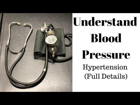 Understanding high blood pressure/hypertension (FULL DETAILS)