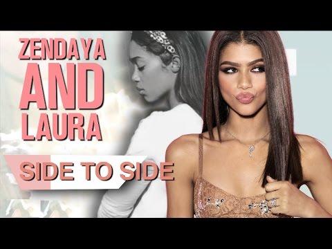 Zendaya & Laura Harrier   Side to Side