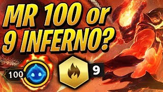 Mr. 100 or 9 INFERNALS?! - The Hardest Choice... | Teamfight Tactics Set 2 | TFT | LoL Auto Chess
