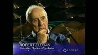 [23.02 MB] Interview with the late Robert Zildjian, founder of Sabian Cymbals