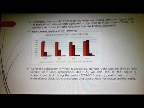 """Public Debt in Kosovo and its Role in Financing of Economic Development""- Blerta Zekolli, Kosovo"