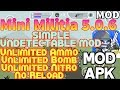 Mini Militia 5.0.6 Simple Mod | Undetectable Mod | Mini Militia.exe | Neeraj Mods