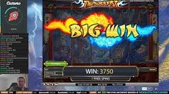 CRAZY RUN on Thunderfist Slot - HUGE WINS!